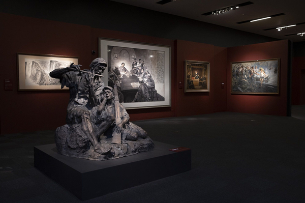去中国国家博物馆,看美术经典记录下的党史故事