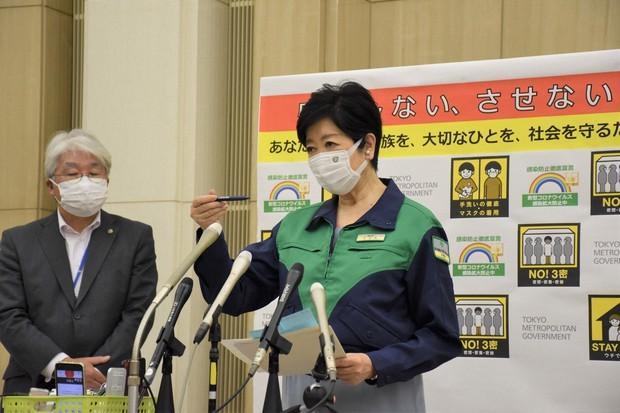 东京都知事小池百合子因严重疲劳住院
