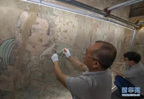 山西永乐宫启动壁画修复工程 为历史上规模最大的一次