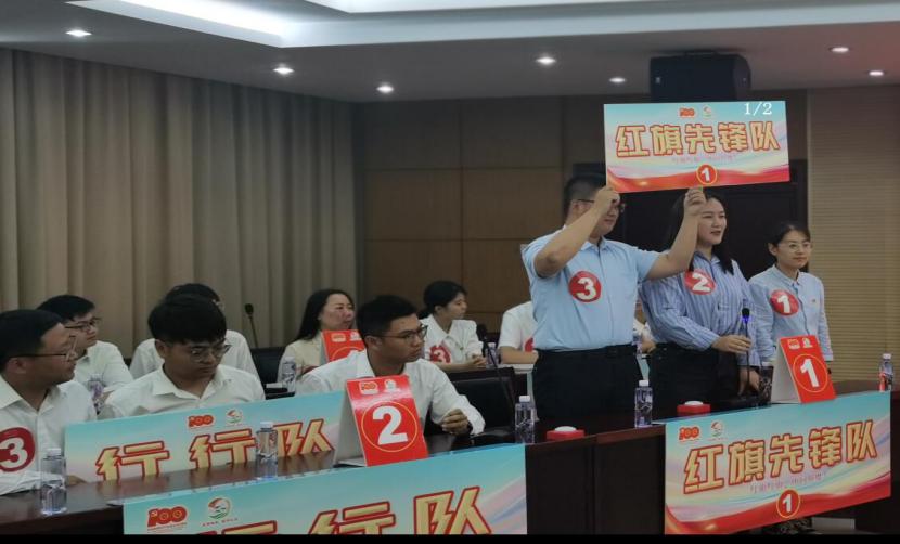 江苏省镇江市农业农村局举办党史知识竞赛