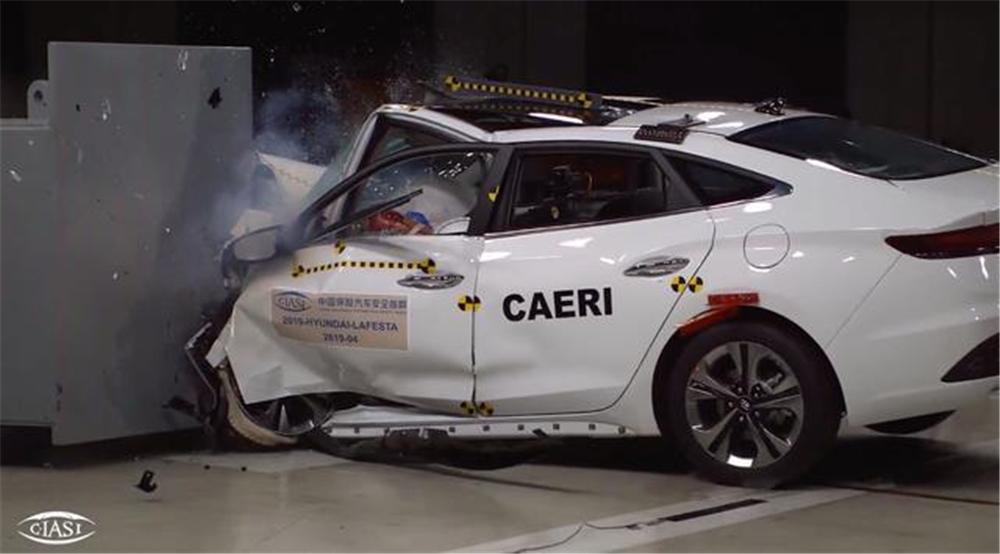 国产索纳塔被曝碰撞试验A柱弯折 中汽研C-NCAP完整成绩尚未公布-第6张图片-汽车笔记网