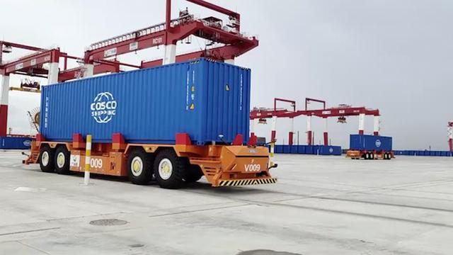 粤港澳大湾区:首个全自动化码头实现全流程实船作业