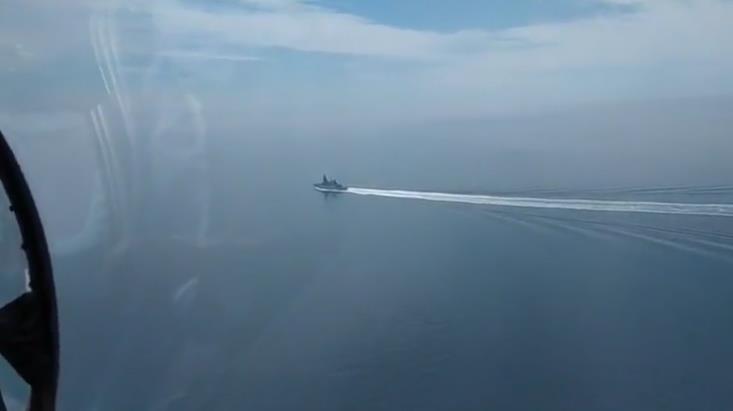 俄海军上校:英军舰侵犯窃取军事情报 窥探俄国防系统