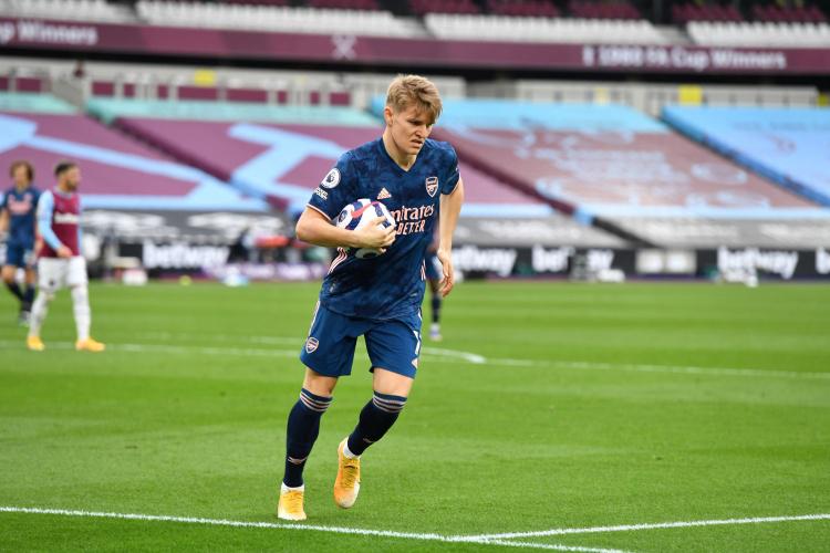 挪威记者:厄德高亲承下赛季将为皇马踢球