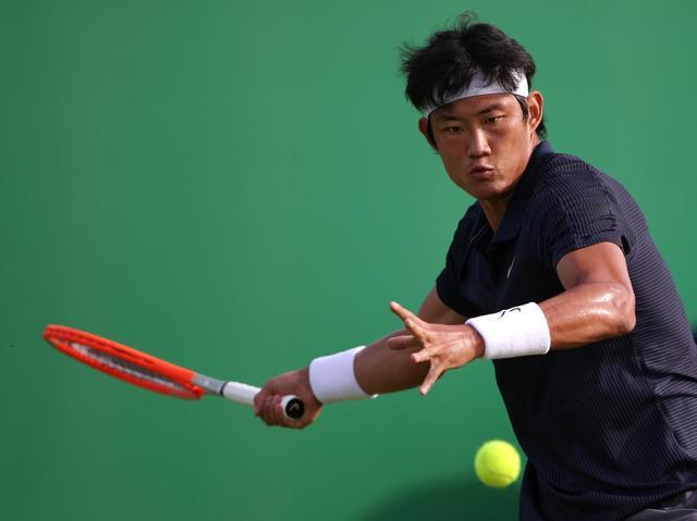 张之臻成公开赛时代首位跻身温网正赛的中国内地男球员