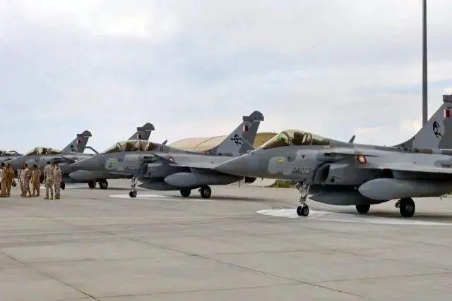 """卡塔尔空军新获得的""""阵风""""战斗机"""