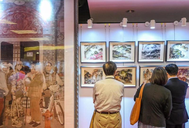 刘海粟、程十发、朱屺瞻……多位画坛宗师作品亮相这个书画展