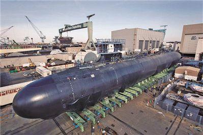 美弗吉尼亚级核潜艇难寻维修备件