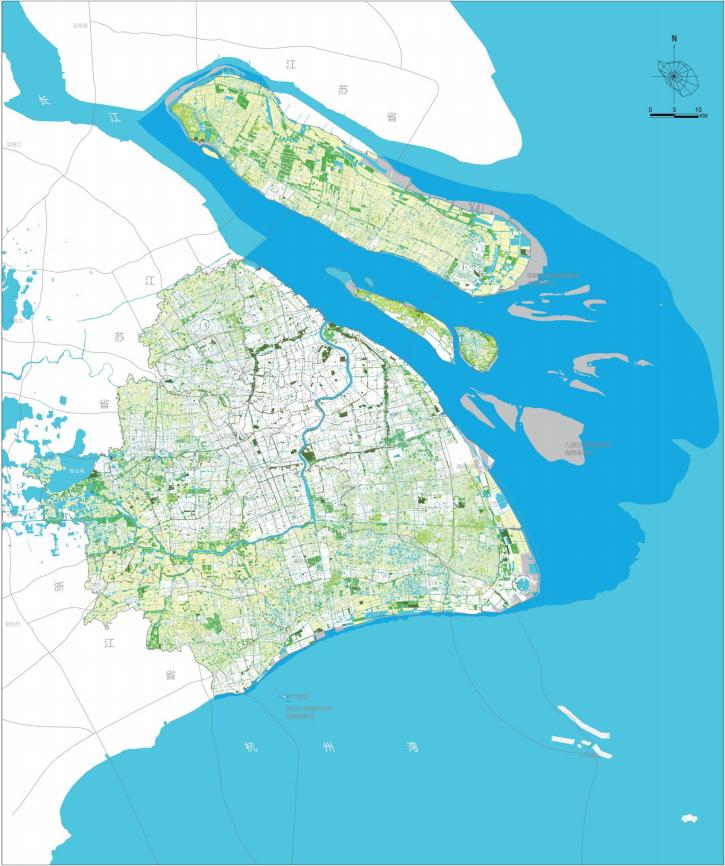 上海发布重大规划,15年后郊野公园至少30座,还有双环九廊十区