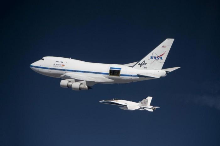 美国宇航局的SOFIA提供了研究地球大气层的新方式