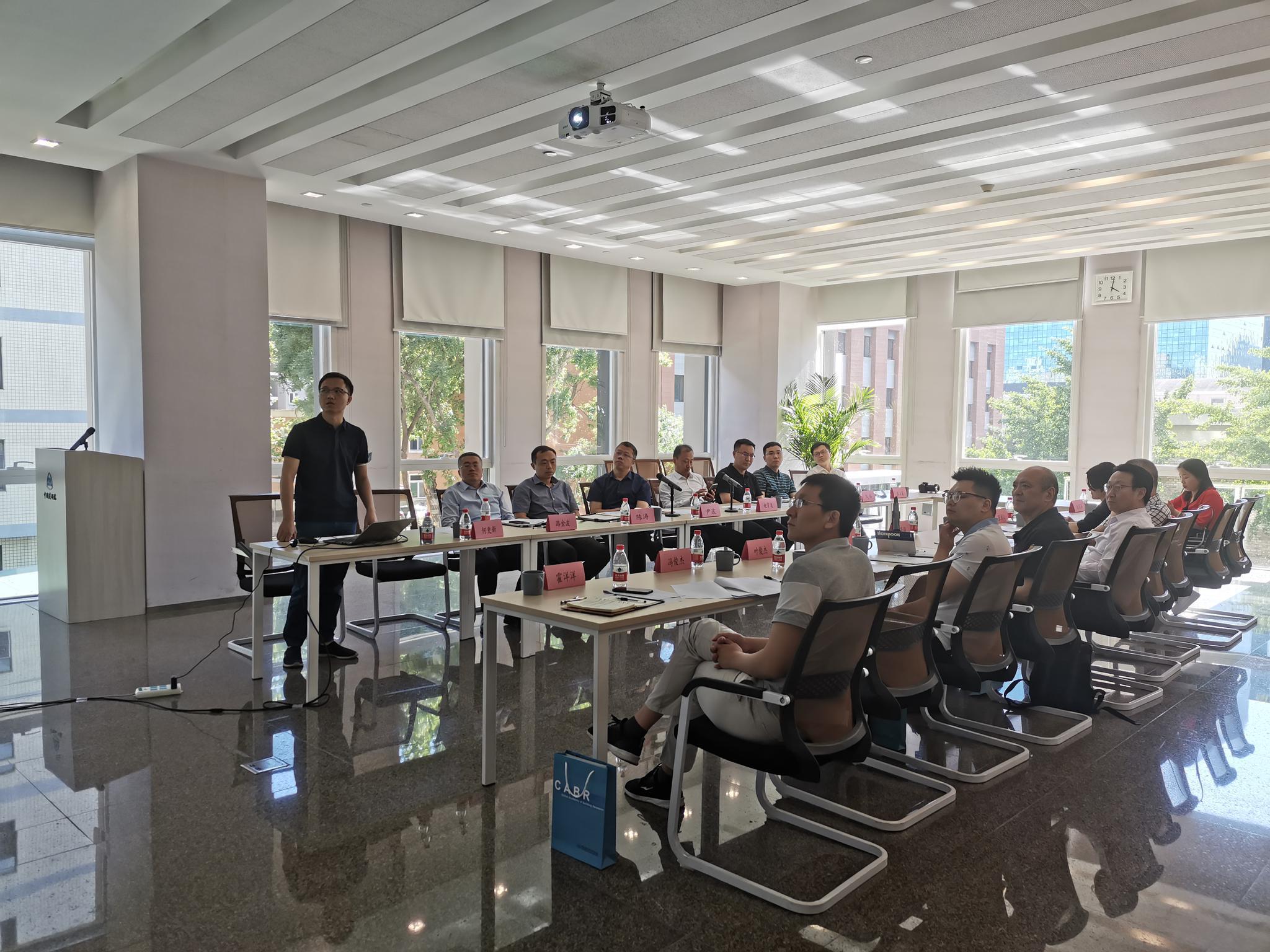 住房和城乡建设部科技与产业化发展中心及绍兴市有关领导来公司调研交流