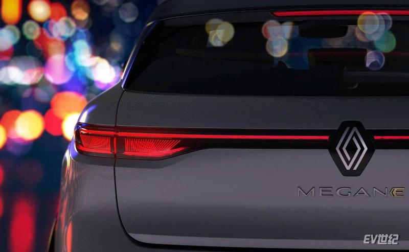 根据CMF-EV平台打造 梅甘娜E-Tech将于9月6日发布
