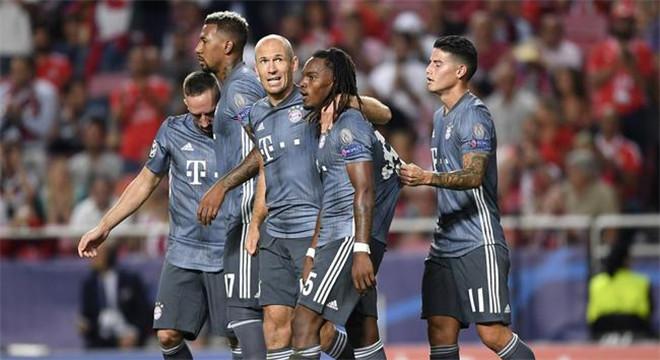 欧冠-莱万首开纪录 边缘中场破旧主 拜仁2-0客胜