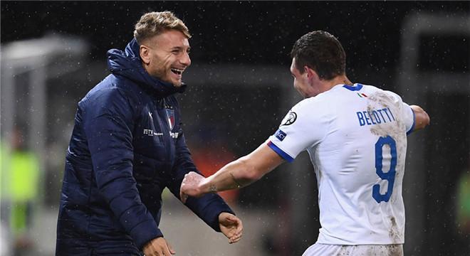 欧预赛-沙拉维传射 意大利客场5-0追平连胜纪录
