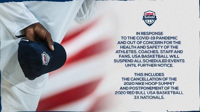 美国篮协发外声明