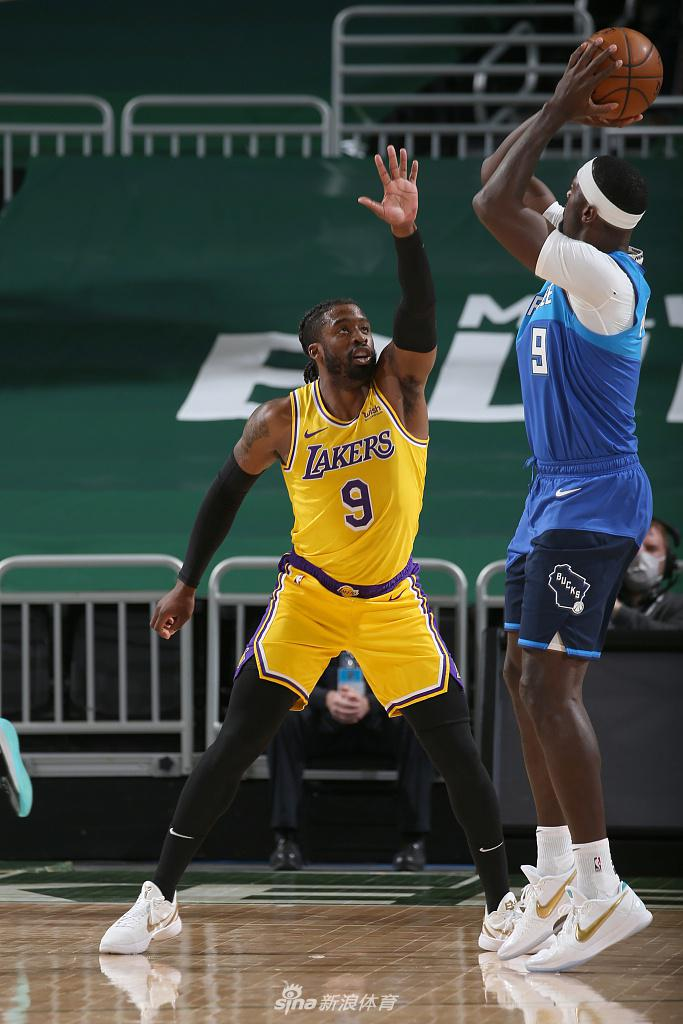 [NBA常规赛]湖人Vs雄鹿
