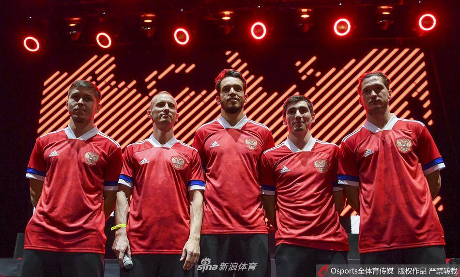 俄罗斯公布欧洲杯球衣