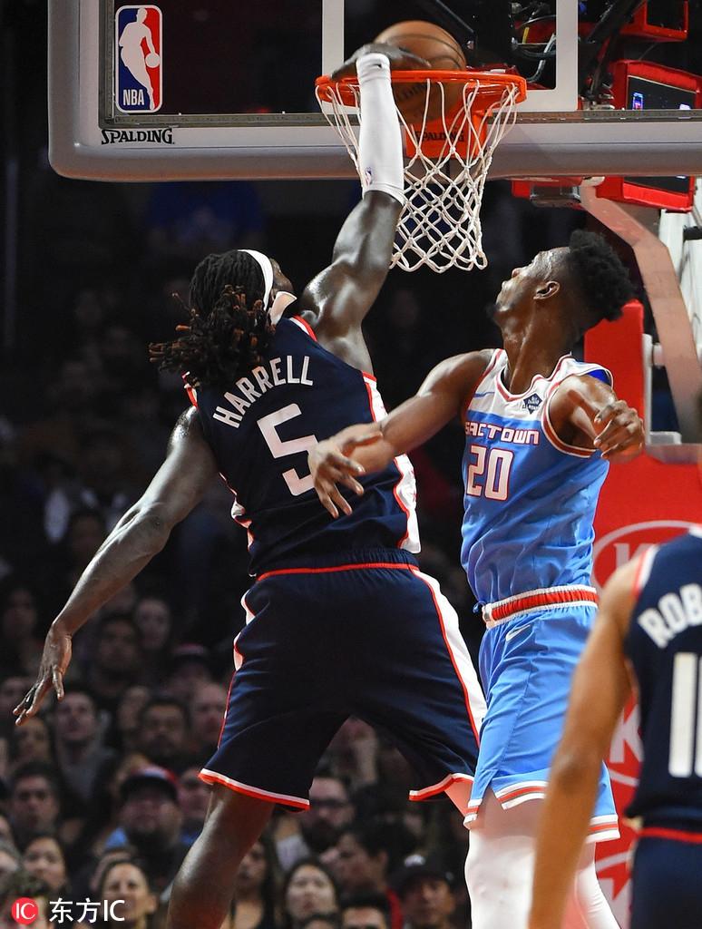 2020年1月20日 NBA 掘金vs步行者 比赛录像