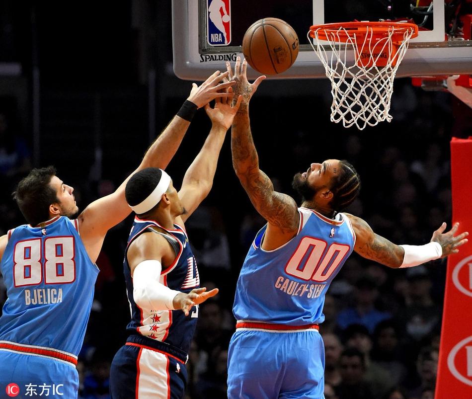1月19日 NBA常规赛 湖人vs火箭 全场集锦