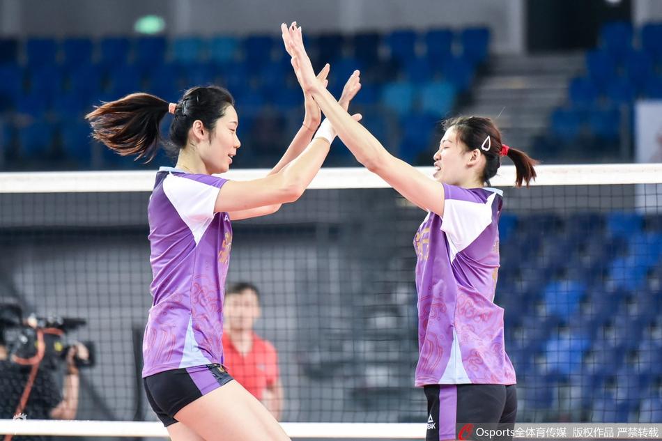 天津女排第三局大逆转3-0山东 李盈莹+朱婷夺41分