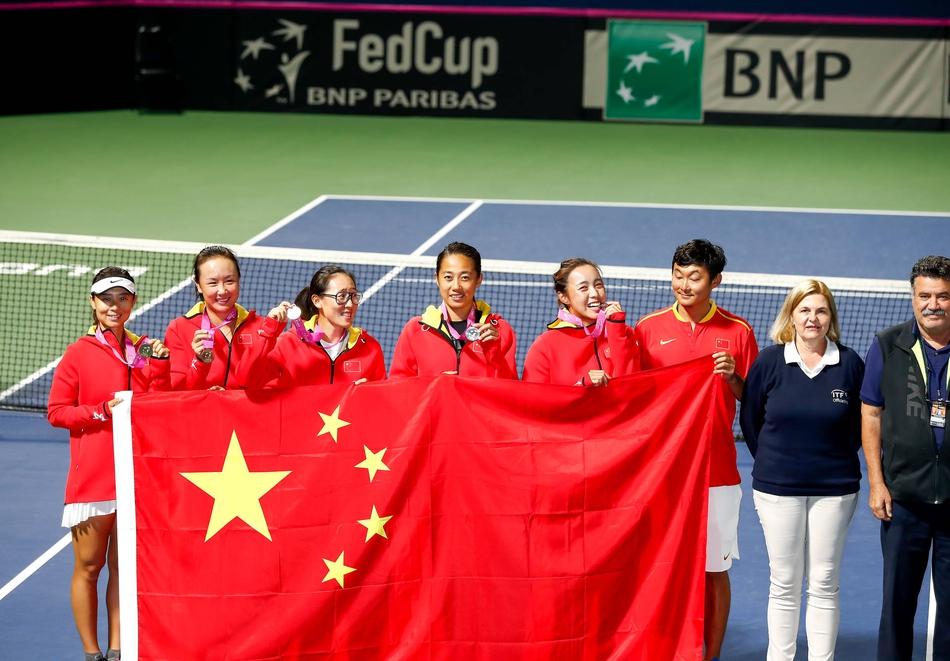 中国女网重返世界组