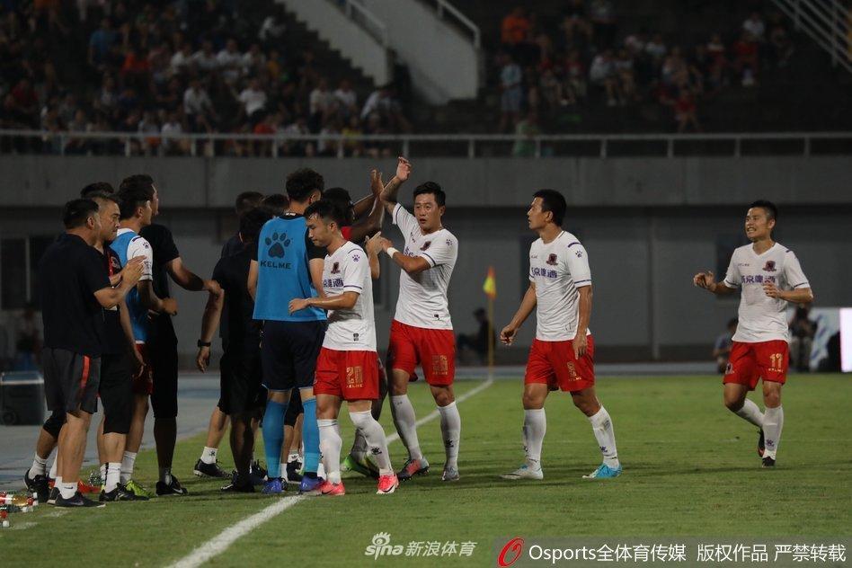 2019年8月17日 中甲 梅县铁汉生态vs南通支云 比赛录像