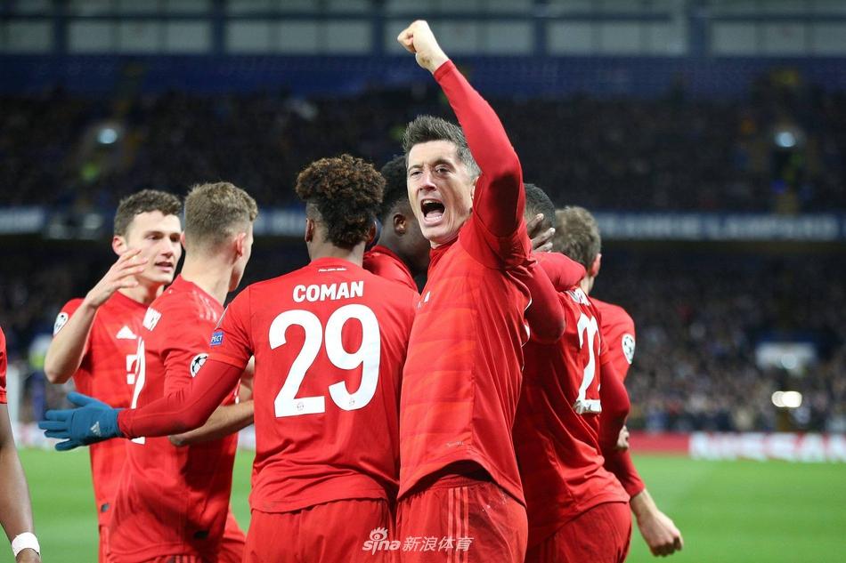 拜仁宣布莱万 无缘欧冠比赛