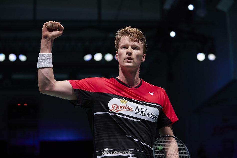 丹麦赛本土四人晋级男单八强 马琳横扫将战张蓓雯
