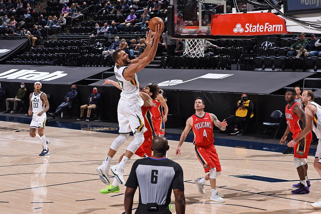 [NBA常规赛]鹈鹕118-129爵士