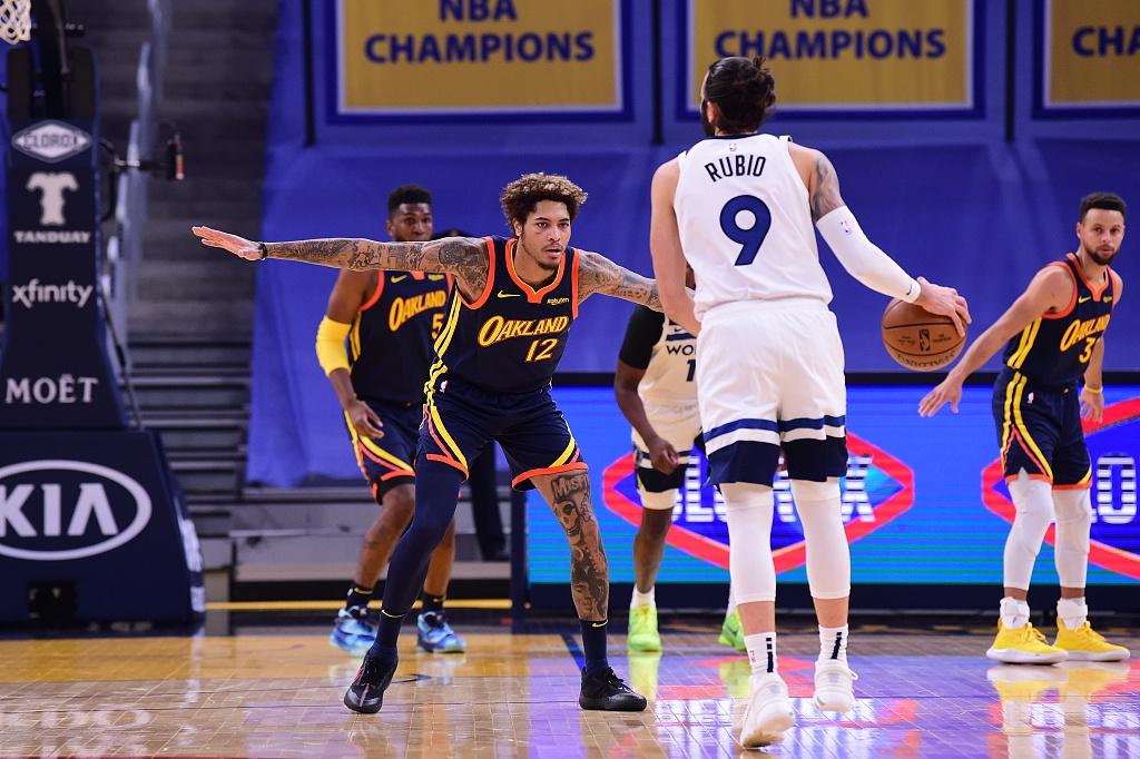 [NBA常规赛]森林狼108-130勇士