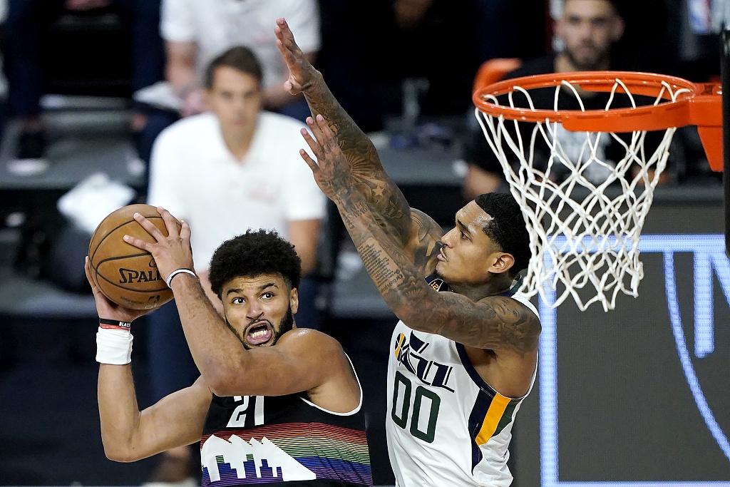 [NBA季后赛]爵士125-135掘金