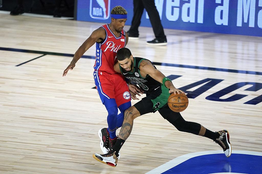 [NBA季后赛]76人101-109凯尔特人