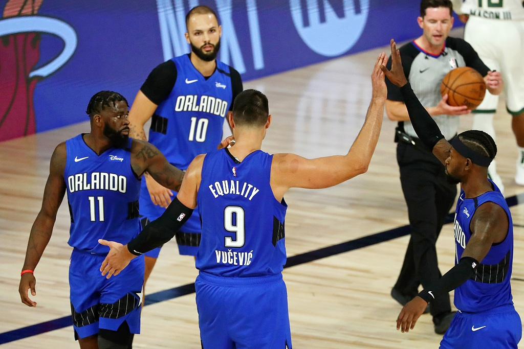 [NBA季后赛]魔术122-110雄鹿