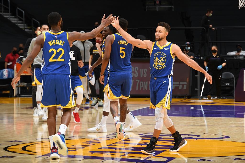 [NBA常规赛]勇士115-113湖人