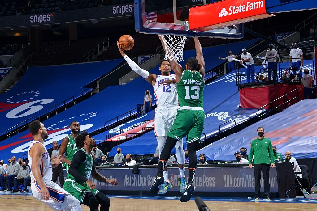 [NBA常规赛]凯尔特人109-117 76人