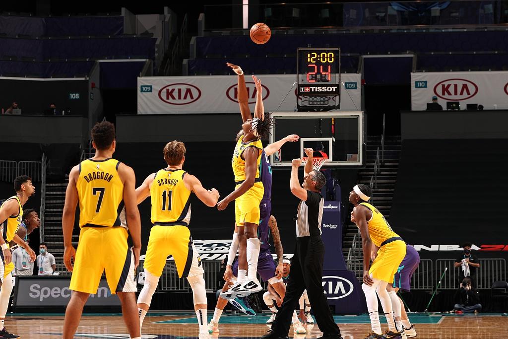 [NBA常规赛]步行者116-106黄蜂