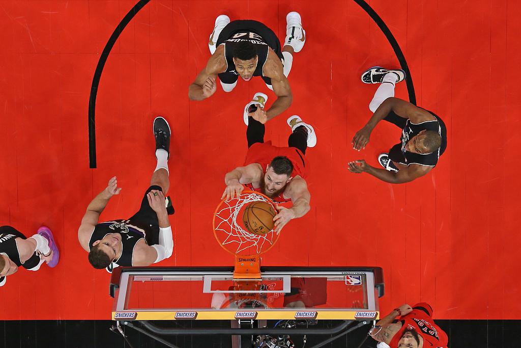 [NBA常规赛]雄鹿115-108猛龙