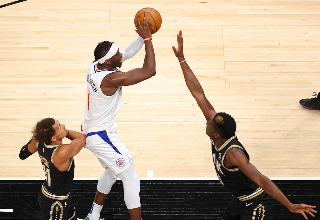 [NBA常规赛]快船99-108老鹰