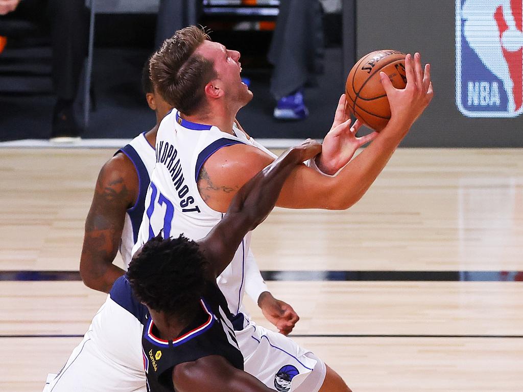 [NBA季后赛]独行侠110-118快船