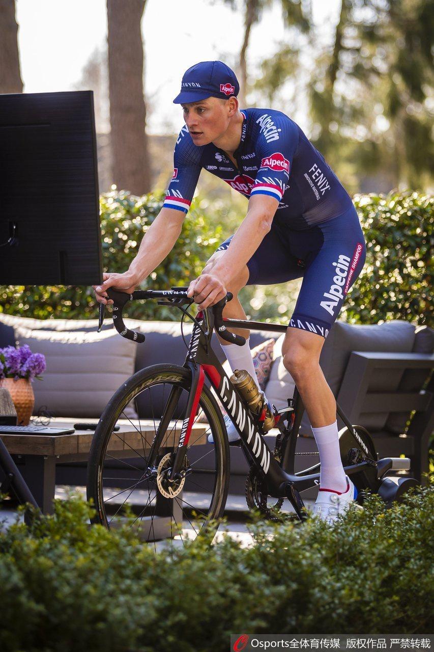 自行车手范德波尔马蒂家中备战