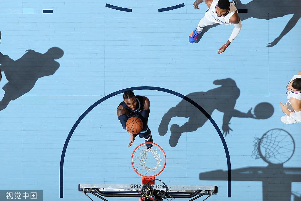 [NBA常规赛]快船121-119灰熊