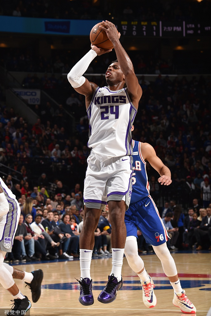 [NBA常规赛]76人97-91国王