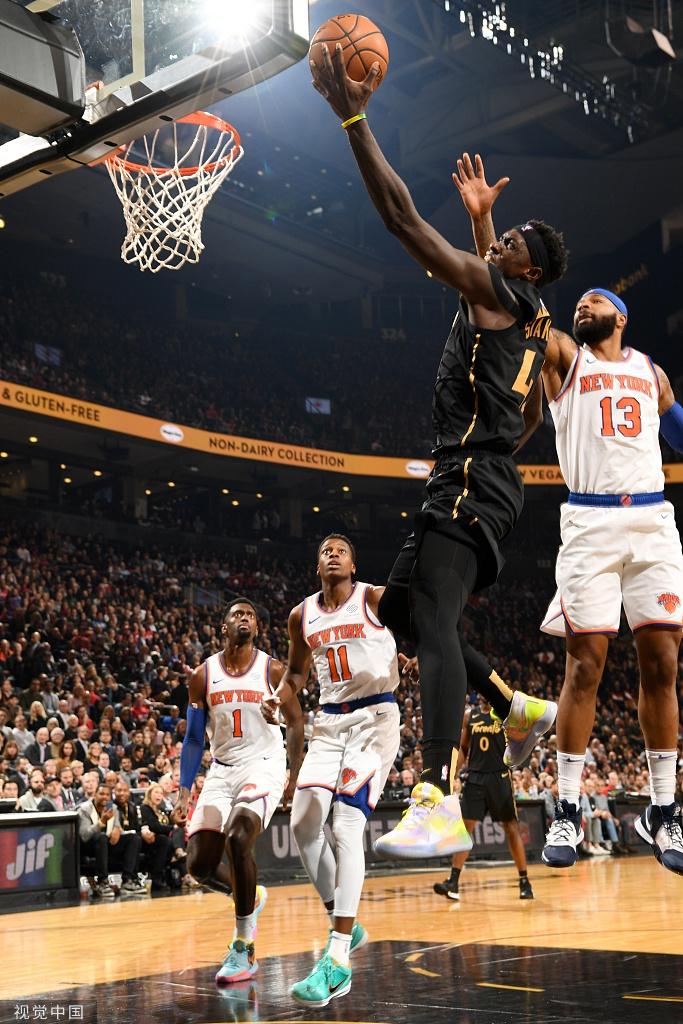 [NBA常规赛]尼克斯98-126猛龙