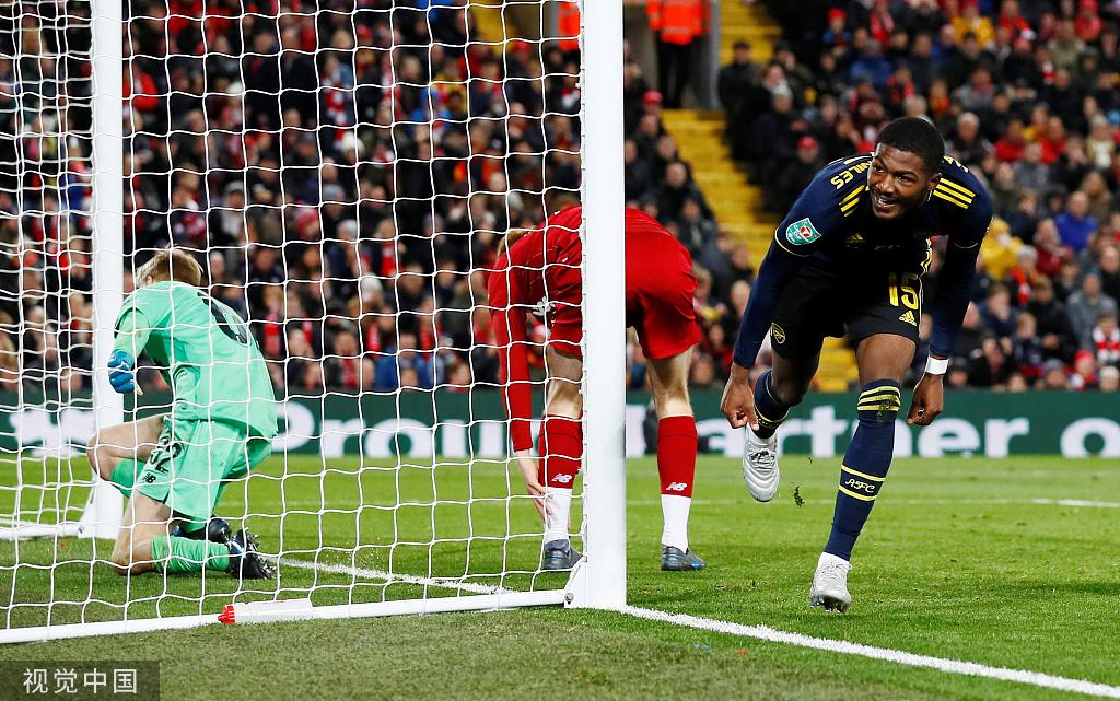 [联赛杯]利物浦10-9阿森纳(点球5-4)