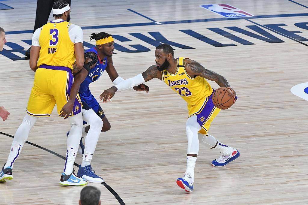 [NBA季后赛]掘金114-126湖人