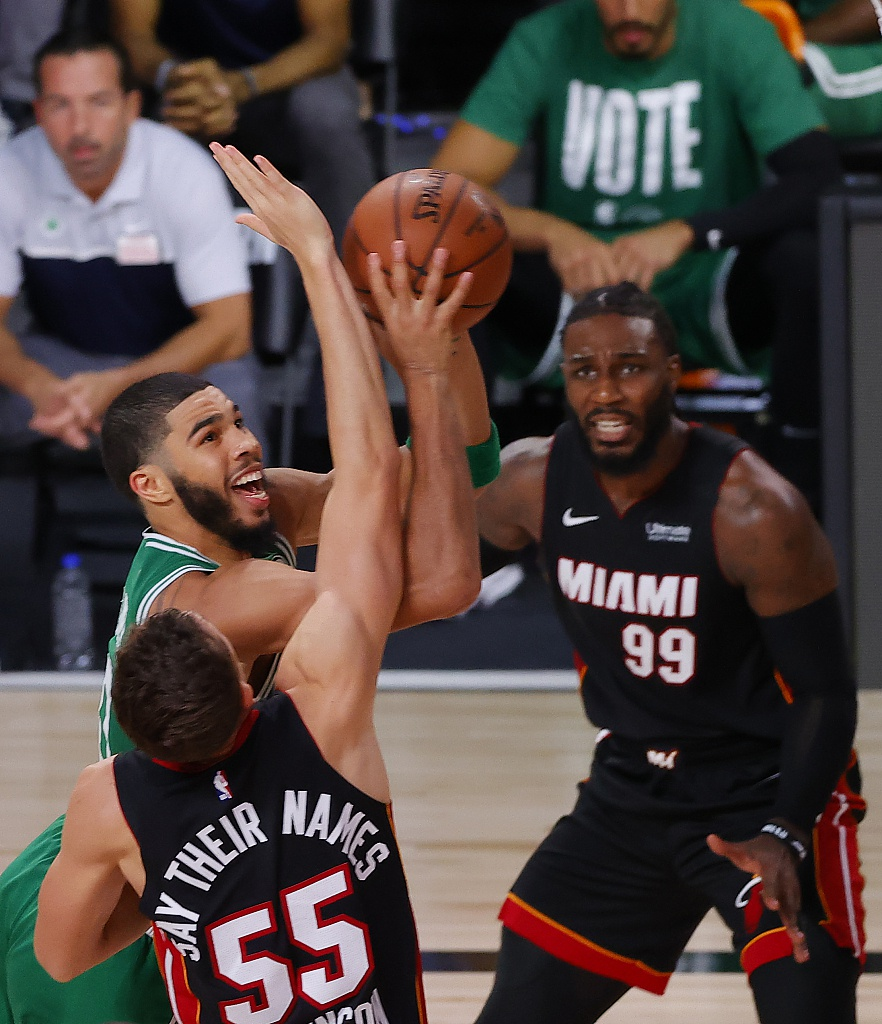 [NBA季后赛]凯尔特人117-106热火