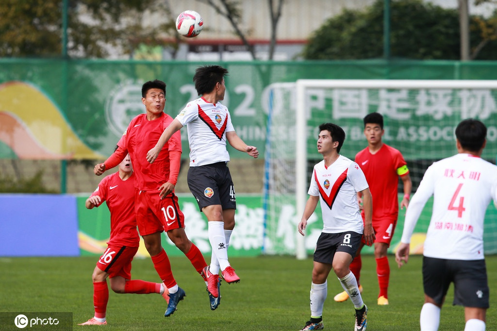 [中乙]U19国青1-2湖南湘涛