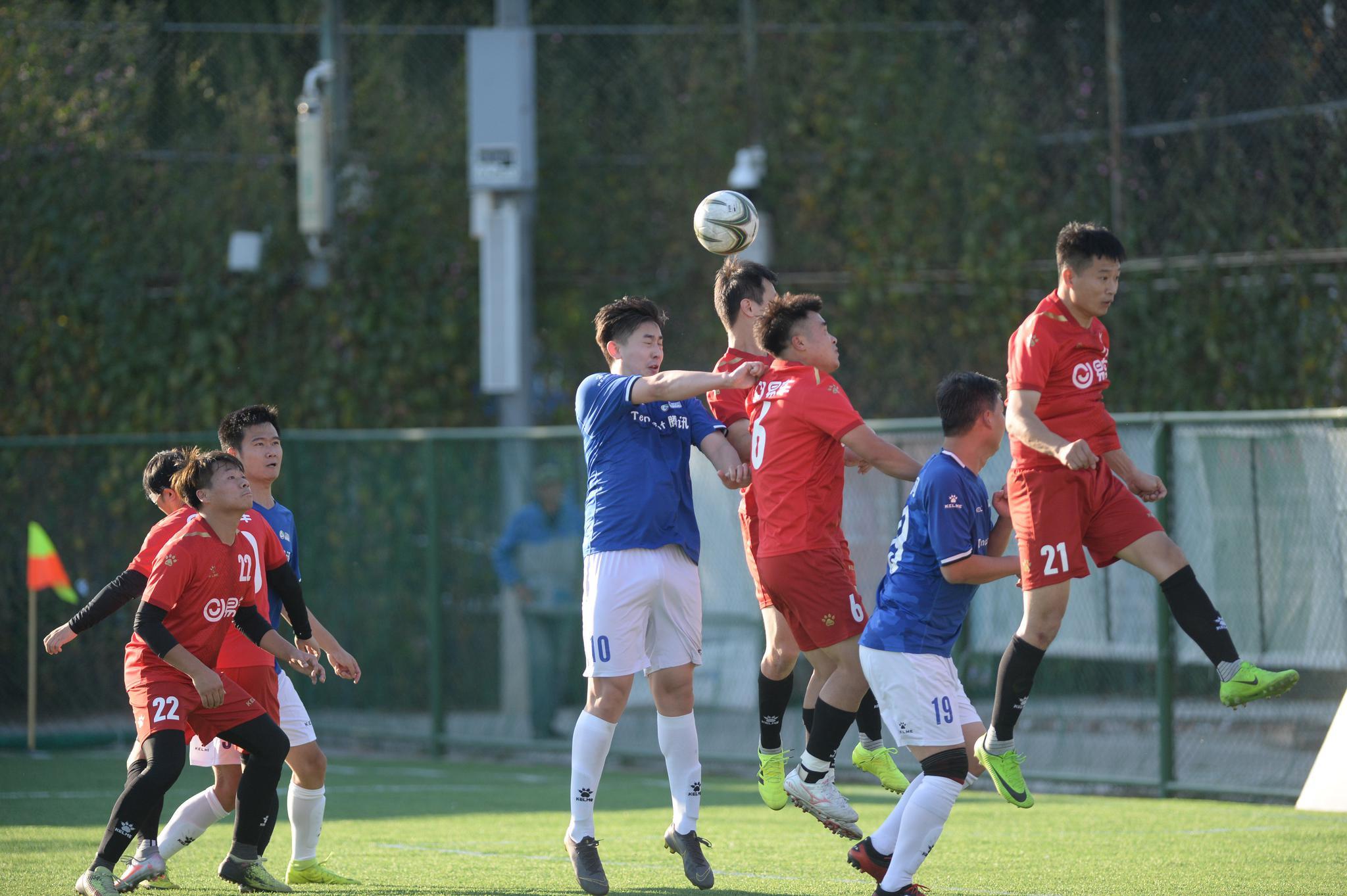 中国网络媒体足球精英赛1/4决赛瞬间