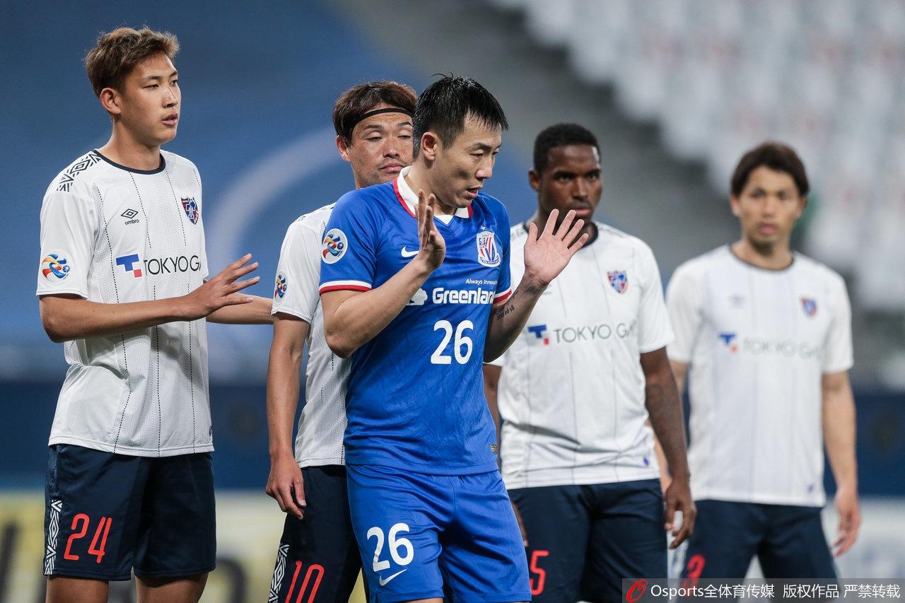 [亚冠]上海申花1-2东京FC