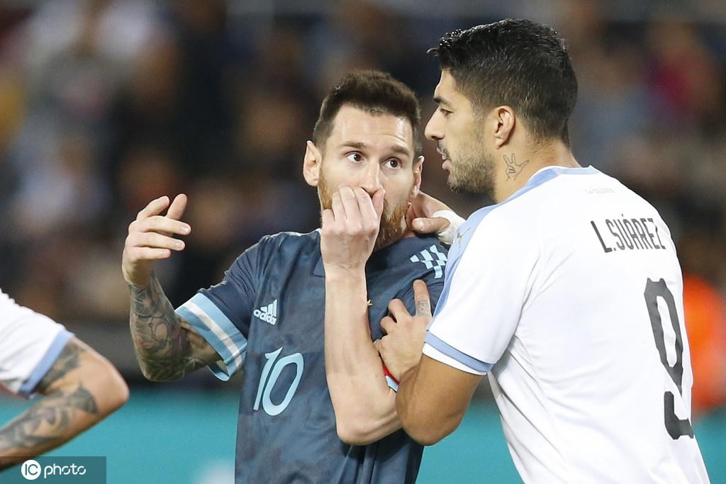 [热身赛]阿根廷2-2乌拉圭